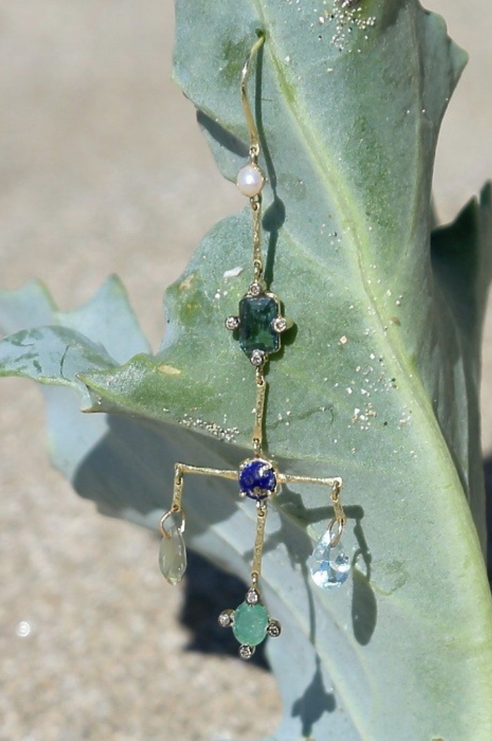 Image of One of A Kind Chandelier Earrings