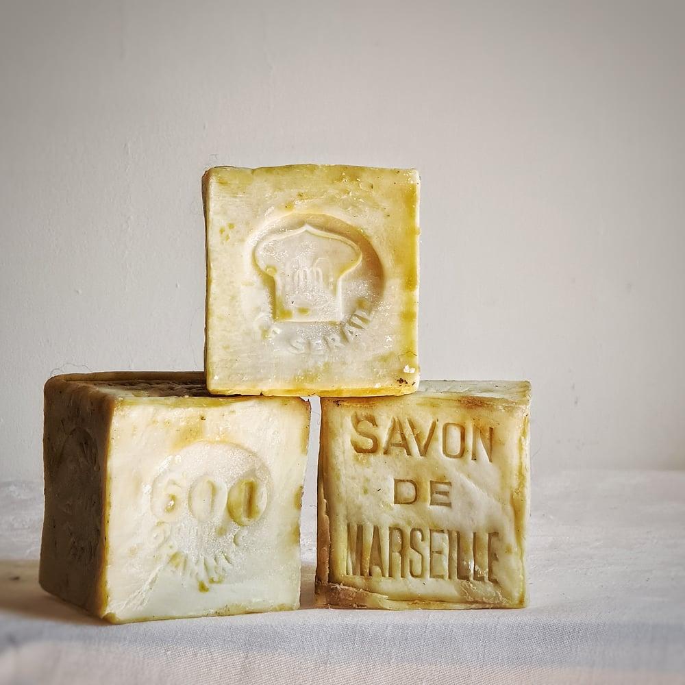 """Lot de 3 savons de Marseille """"Le Sérail"""" 600 grammes"""
