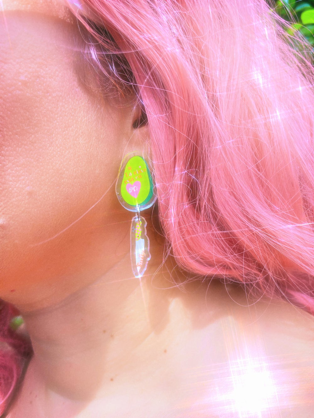 Image of Independent Babe earrings