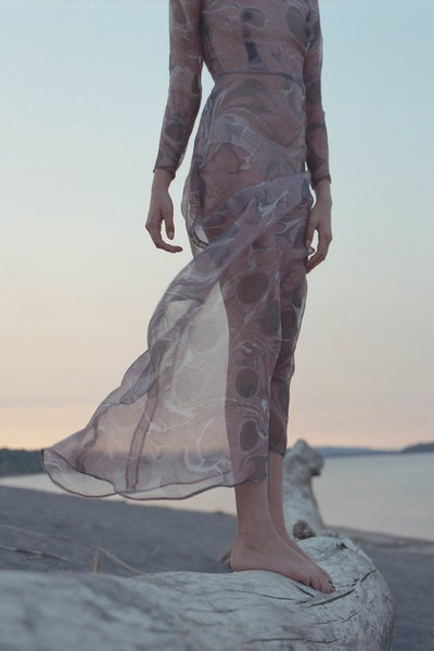 Image of MARBLE Maxi - Rose