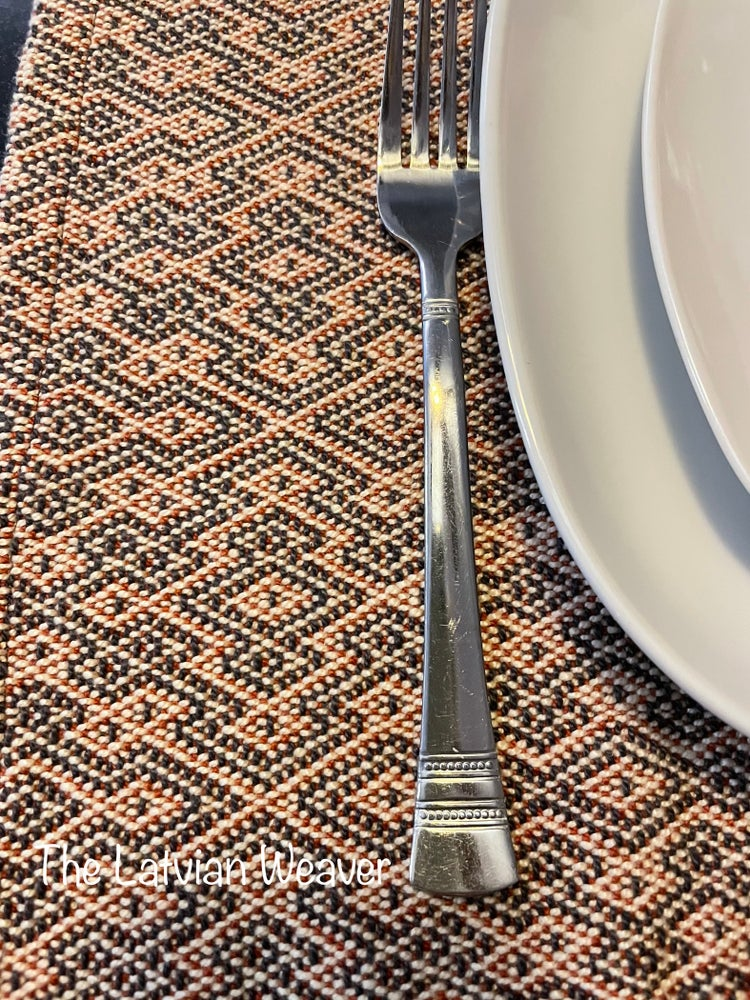 Image of Handwoven 100% Cotton Placemats (Gothic Cross)