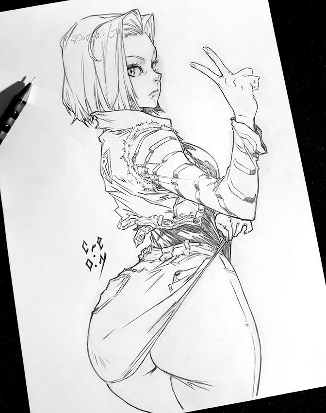 Image of ANDROID 18 - DBZ