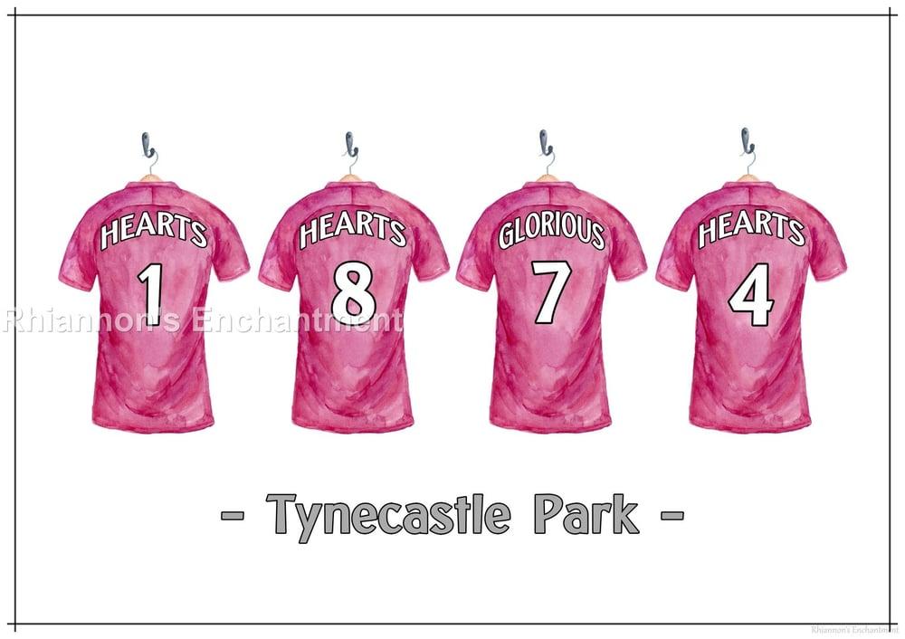 Heart of Midlothian 1874 Prints - Football