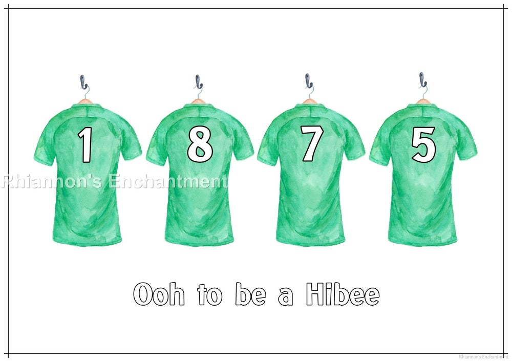 Hibernian 1875 Prints - Football