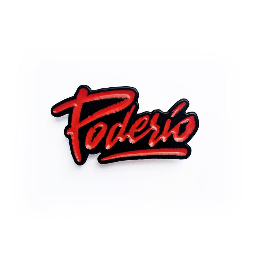 Image of Poderío -pin-