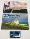 Isle of May Bird Observatory Pin Badge