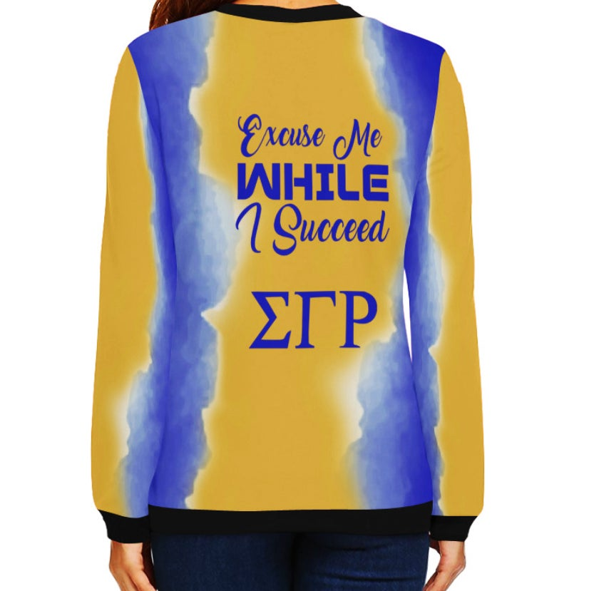 Image of SGRho Cool and Sophisticated Dress Sweatshirt