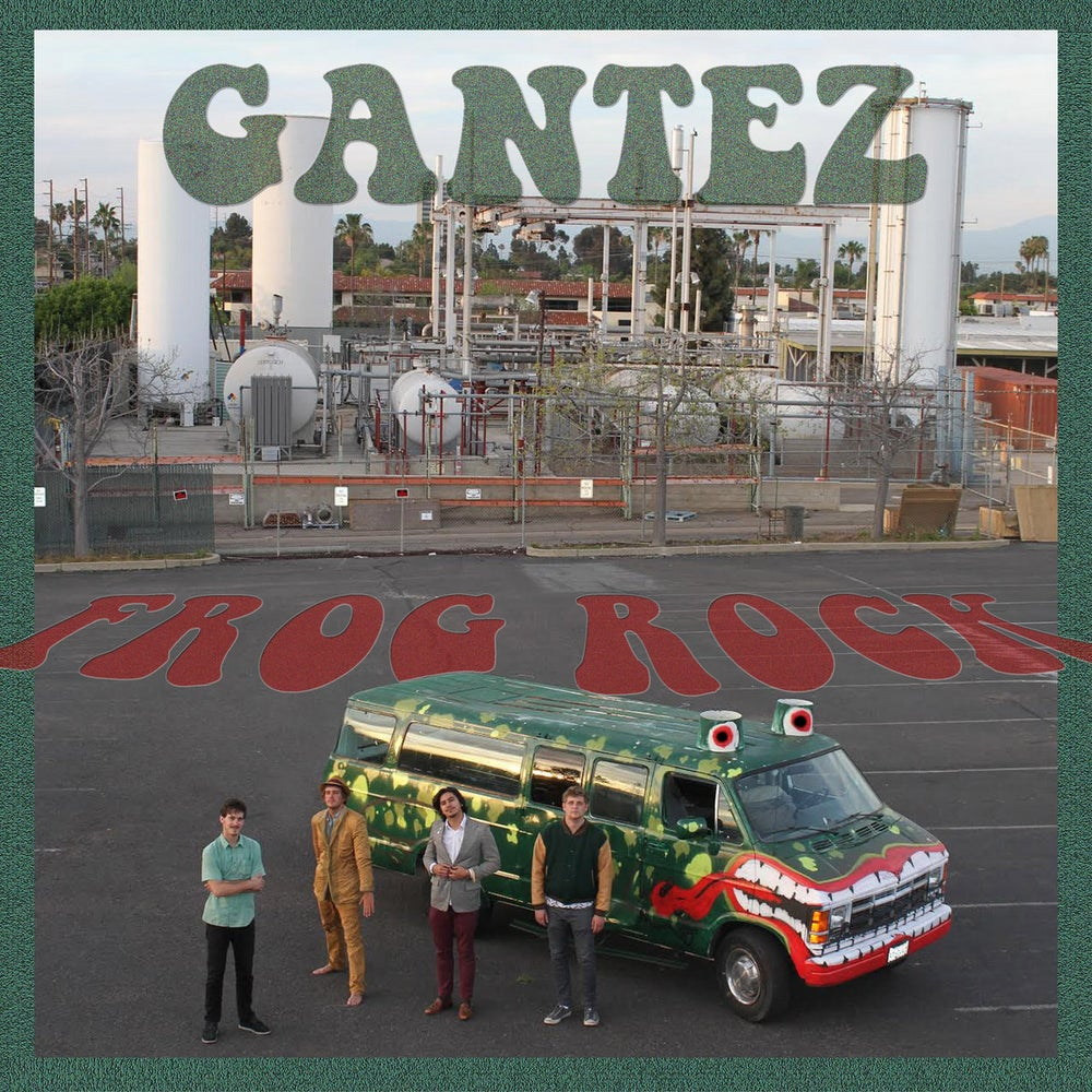 Image of GANTEZ - Frog Rock (Green Vinyl)