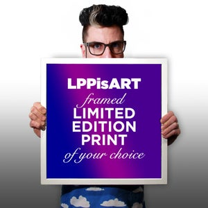 Image of Troy Gua's #LPPisART Limited Edition Print of Your Choice