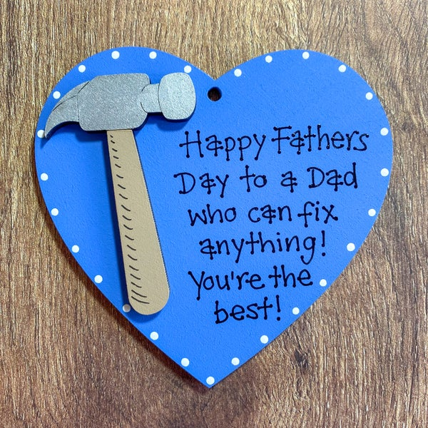 Image of Fathers Day Heart (hammer)