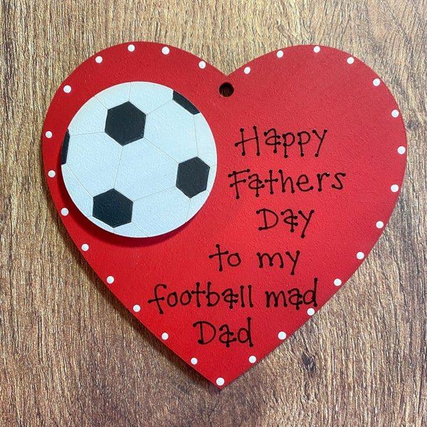 Image of Fathers Day Heart (football)