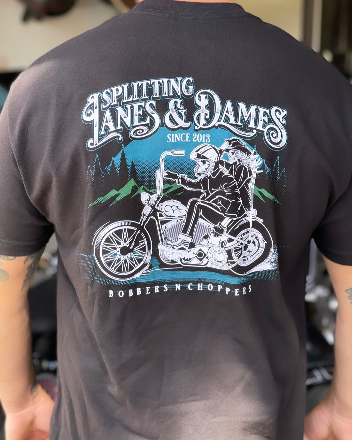 Image of Split Lanes N Dames Tee