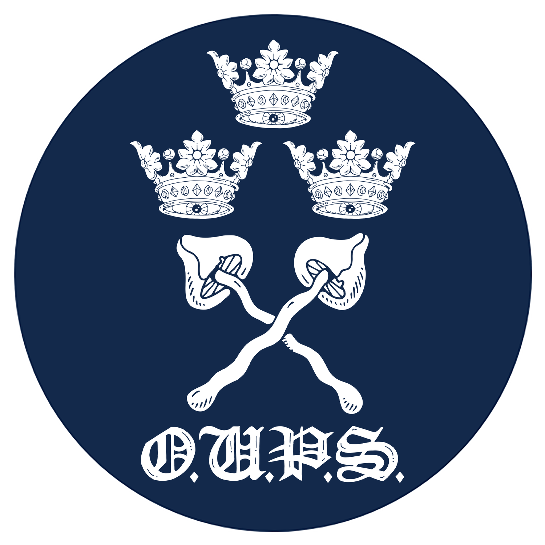 Image of OPS varsity 7.6cm badge