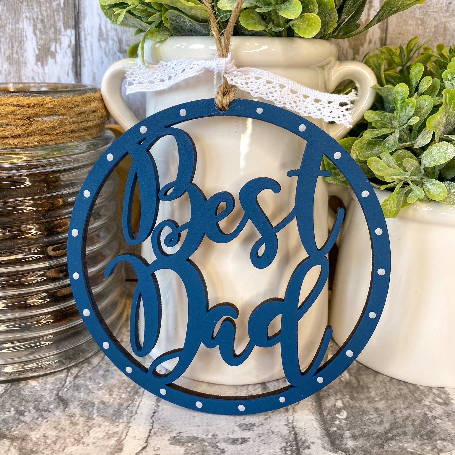 Image of Personalised Hoop (Fathers Day)