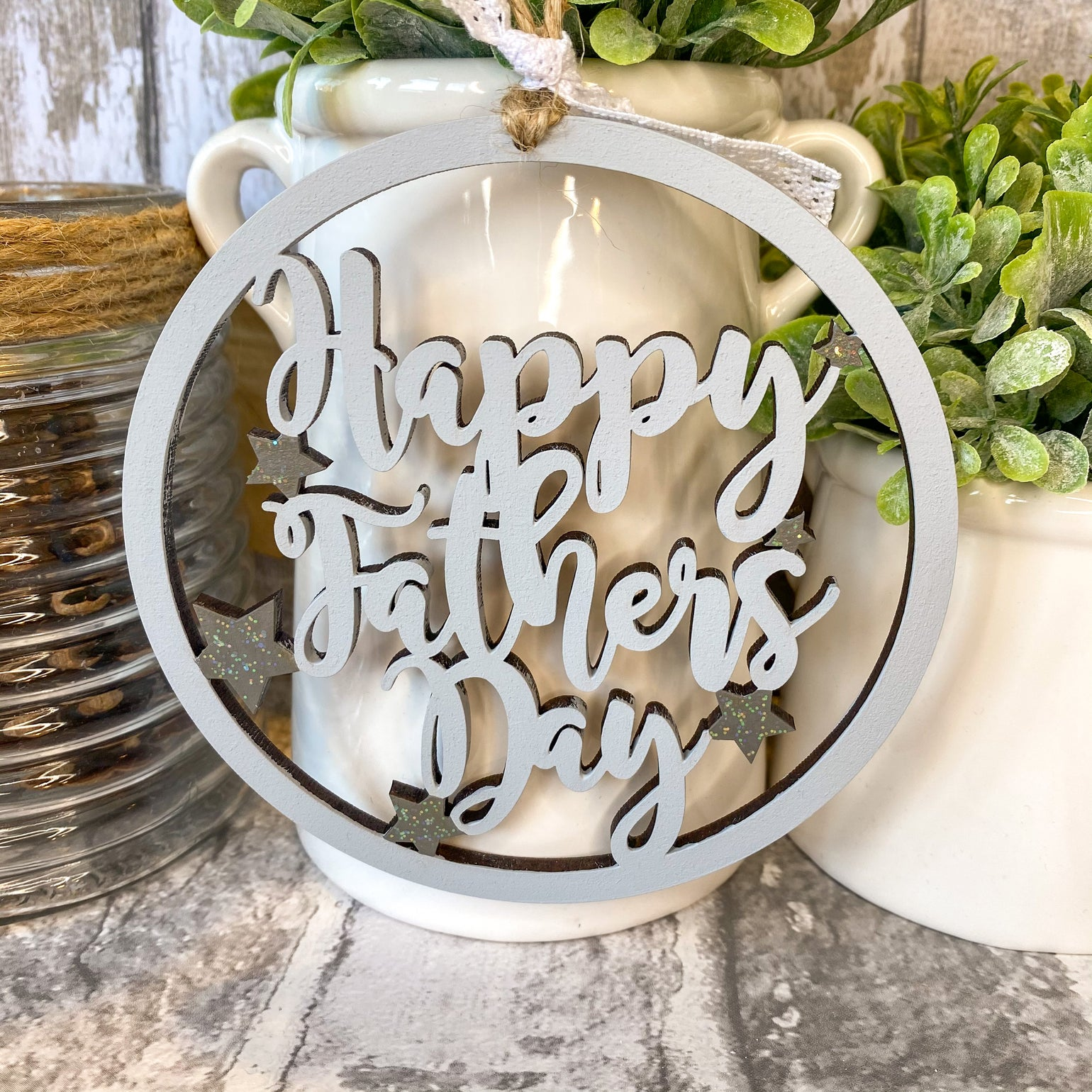 Image of Happy Fathers Day Hoop