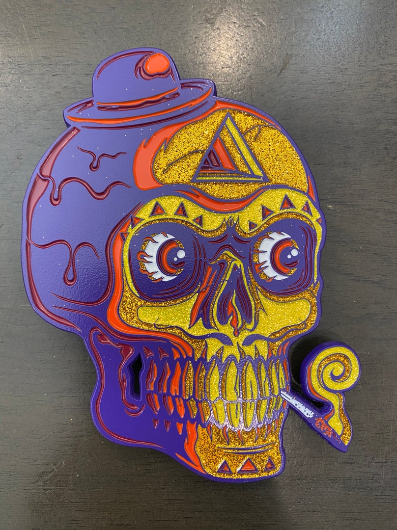 Image of Giant Skull Soft Enamel Pins