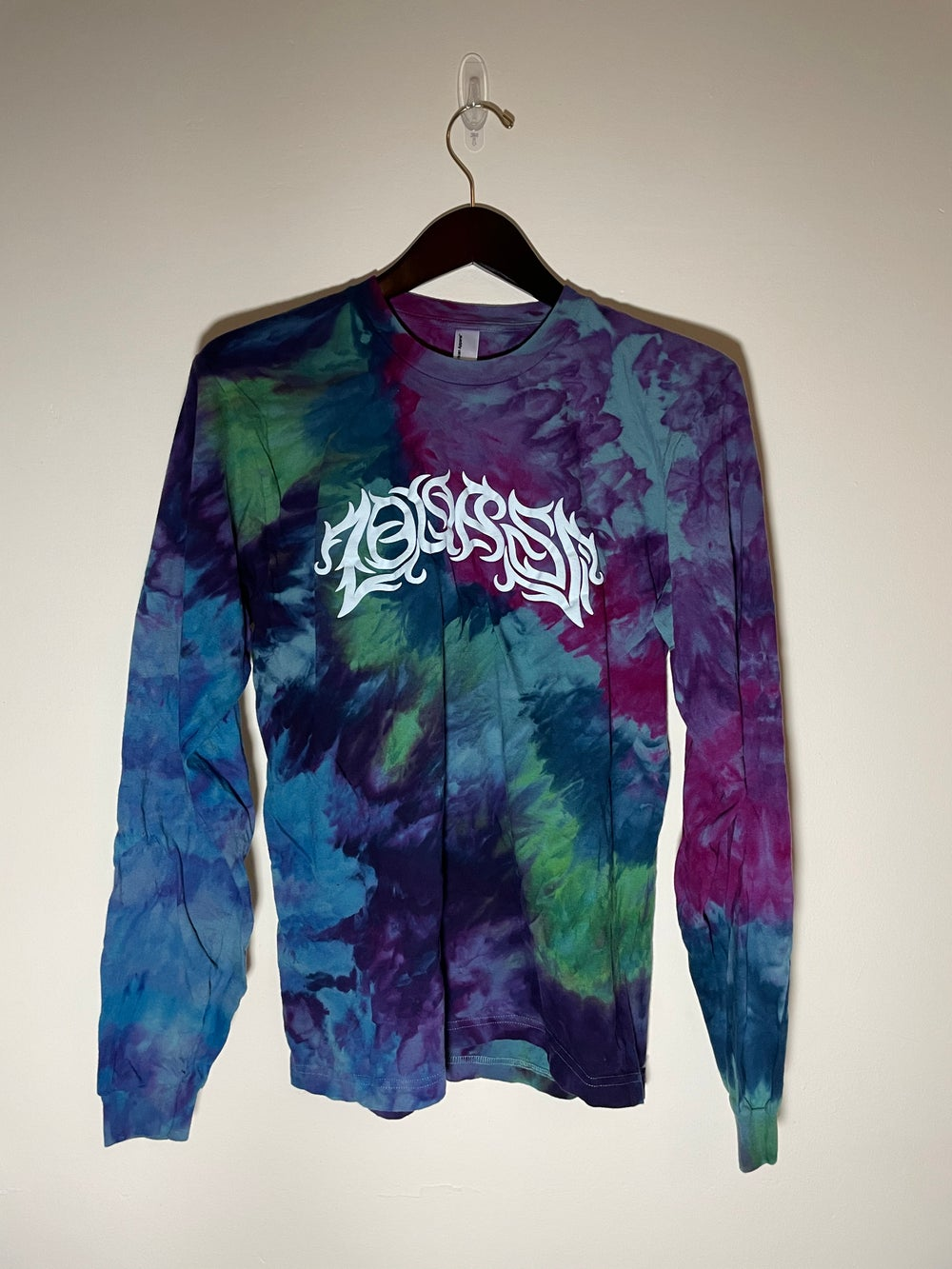 Long Sleeve Tie Dye Shirt #5 - Medium