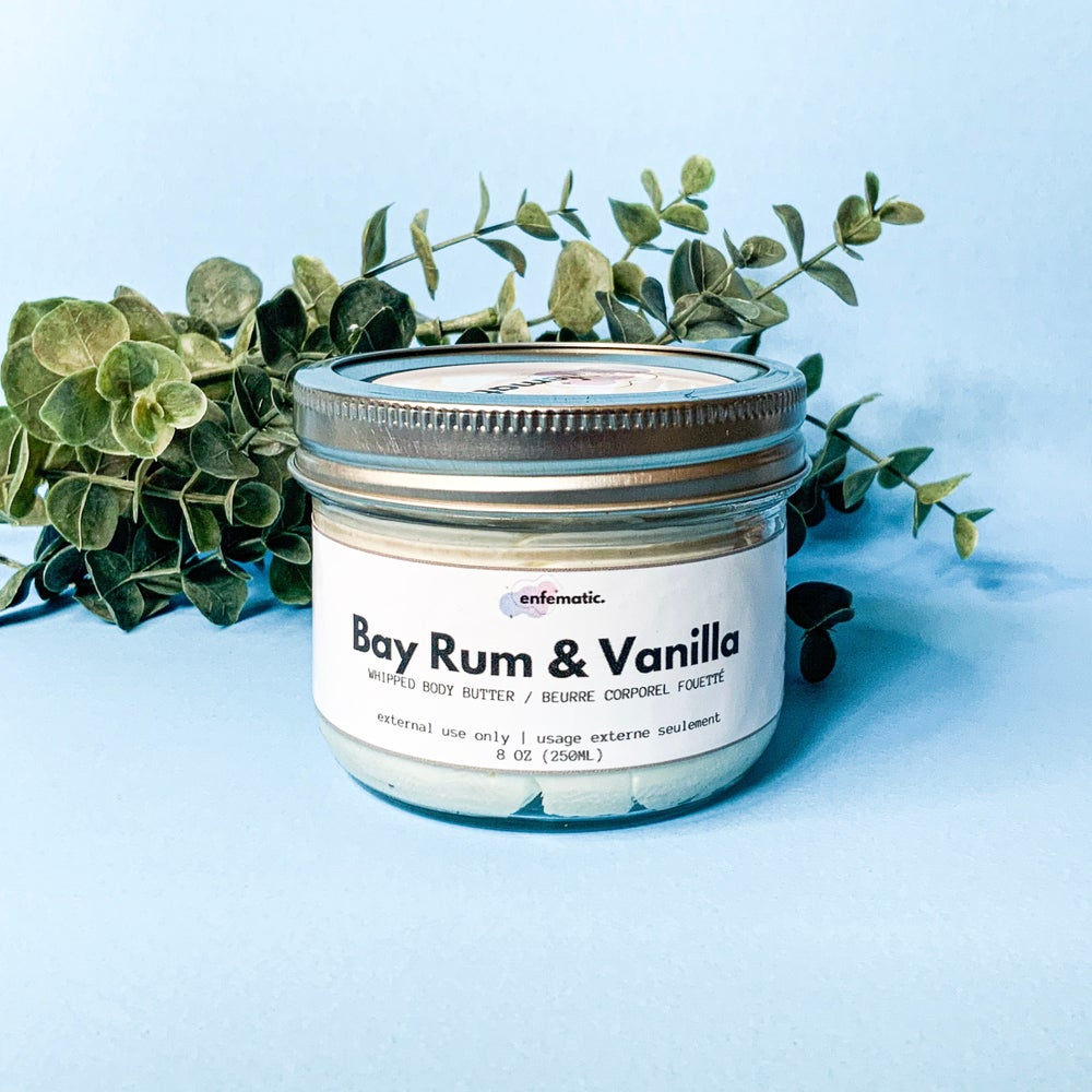 Image of Bay Rum & Vanilla Whipped Body Butter