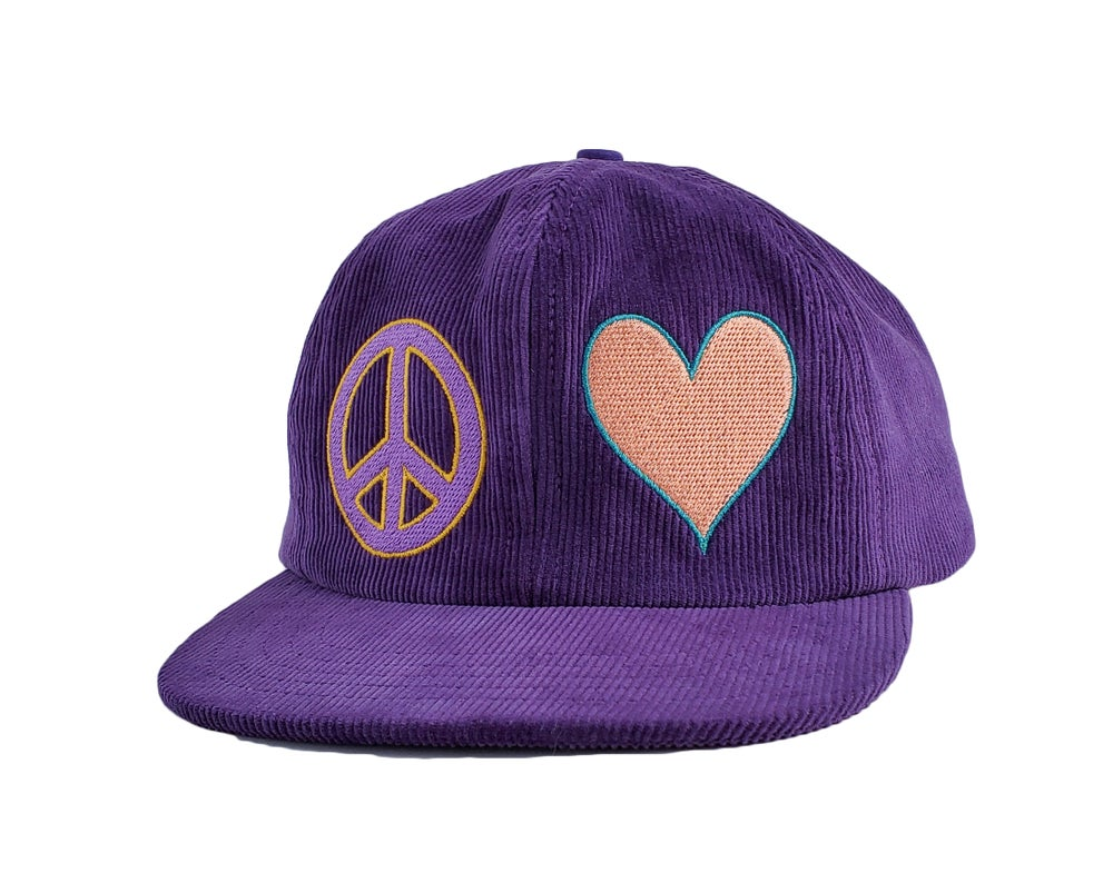 Image of Peace and Love Cap