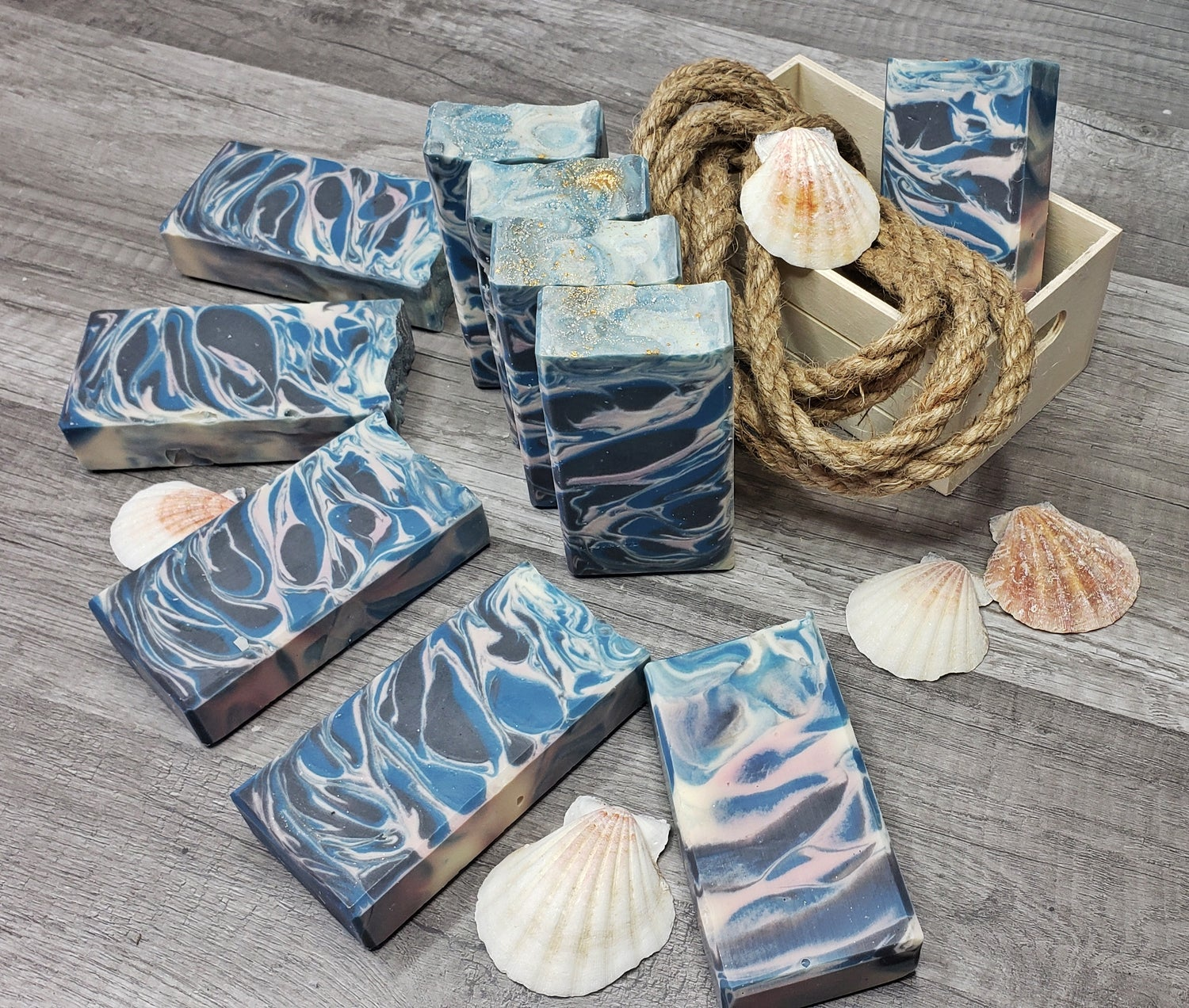 Image of WATERFALLS HANDMADE COLD PROCESS SOAP(COCONUT OIL-FREE)