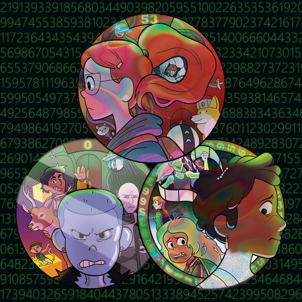 Sidetracked Stickers (PRE-ORDER)