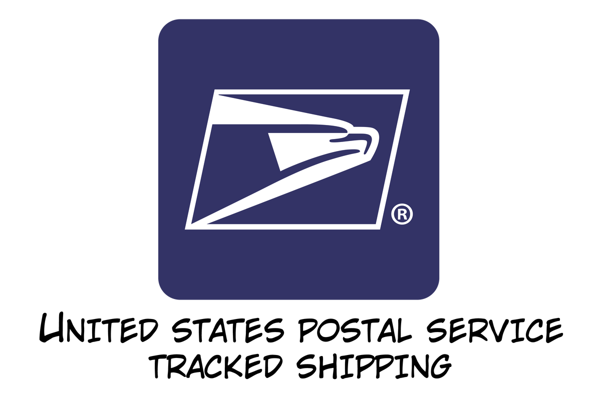 Image of United States Postal Service Tracked Shipping (USA ONLY)