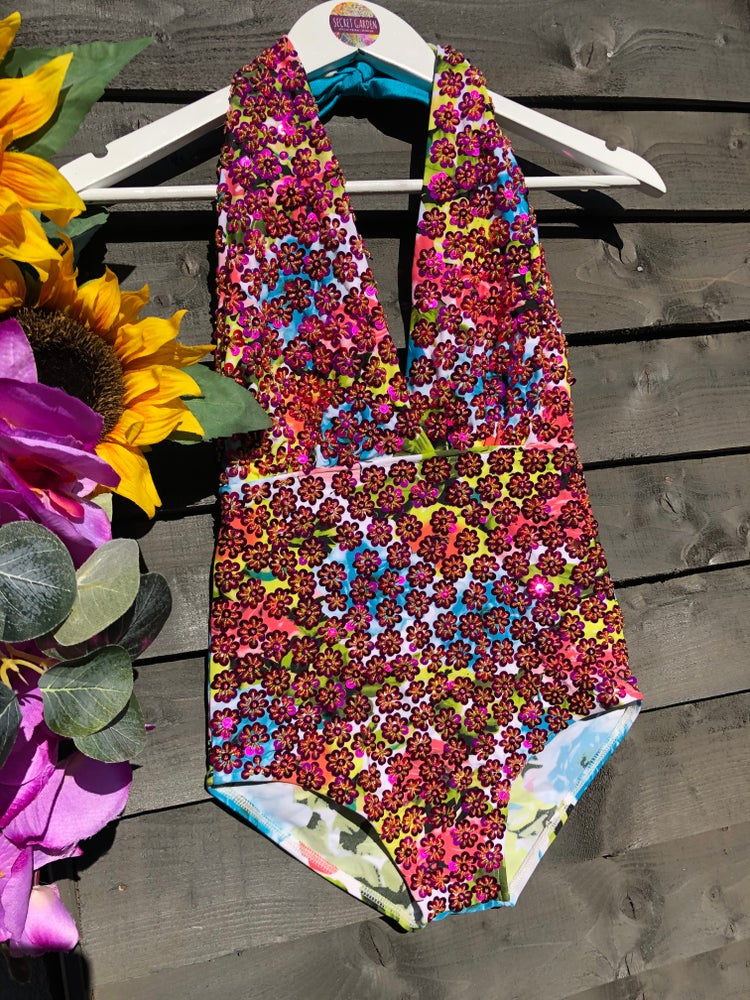 Image of St Lucia Sequin Swimsuit