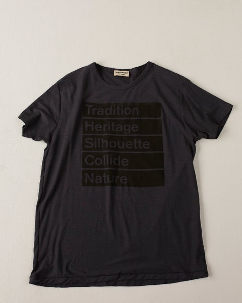 Image of Workhouse Summer Charcoal T-shirt - Logo t-shirt