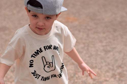 Image of No Time For Hating, Just Time For Skating Tee