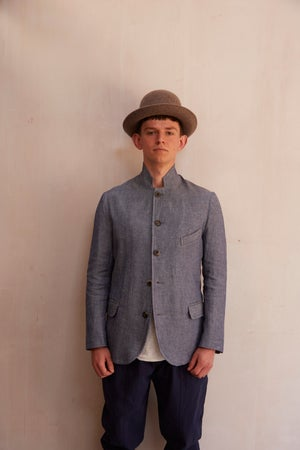 Image of Top Boy Jacket - Blue