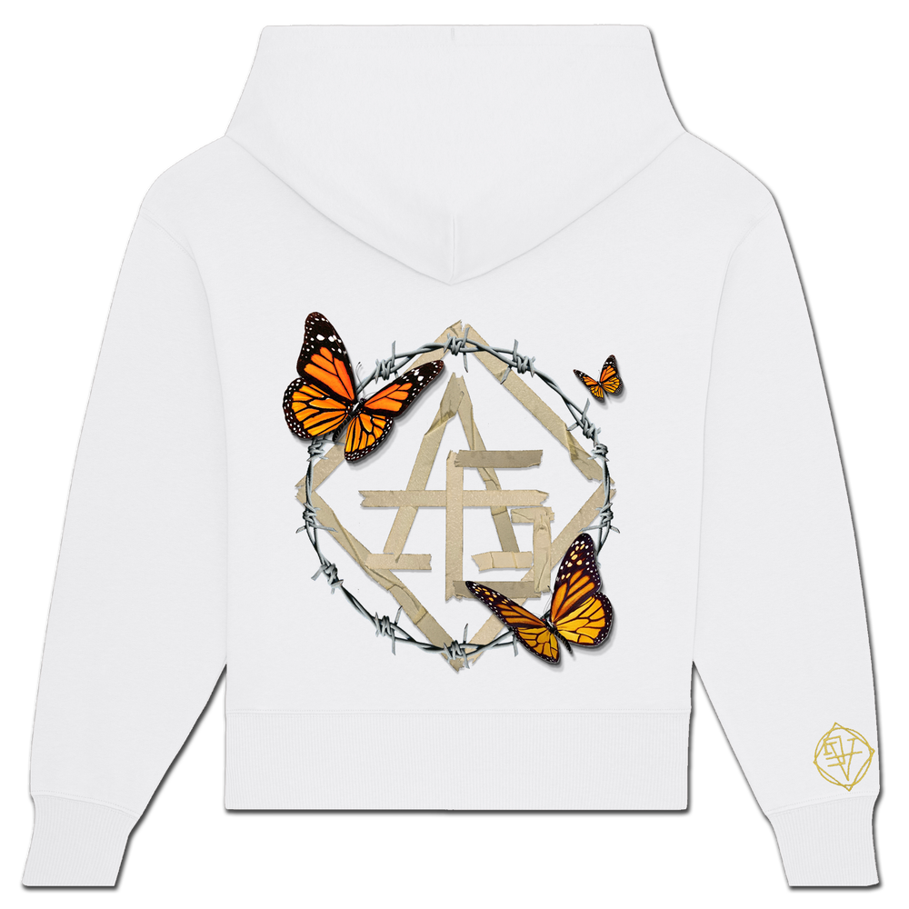 Image of BUTTERFLY SCOTCH HOODIE - NEW FIT!