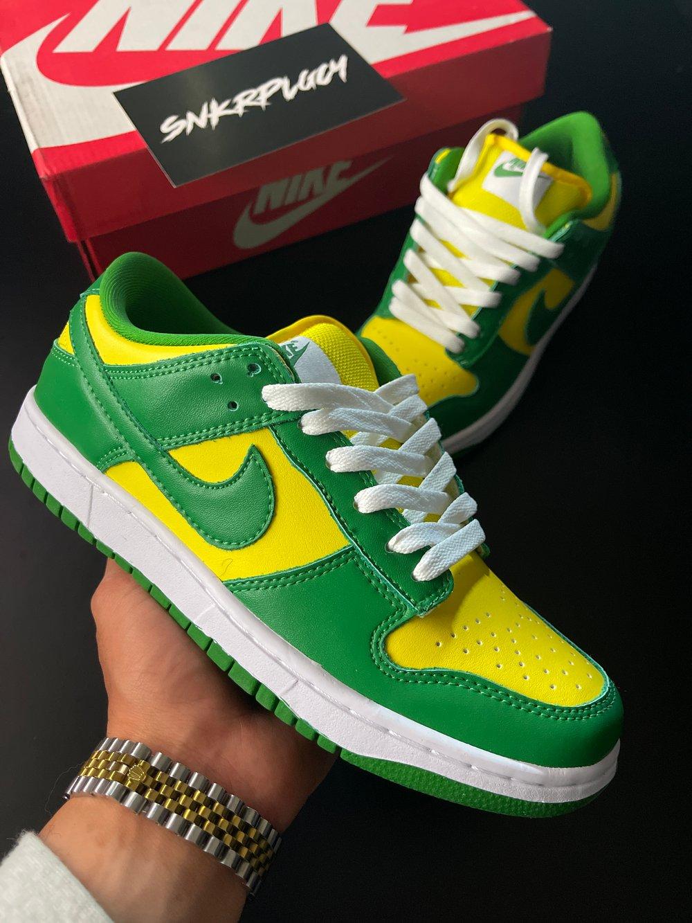 "Nike Dunk SB ""Brazil"""
