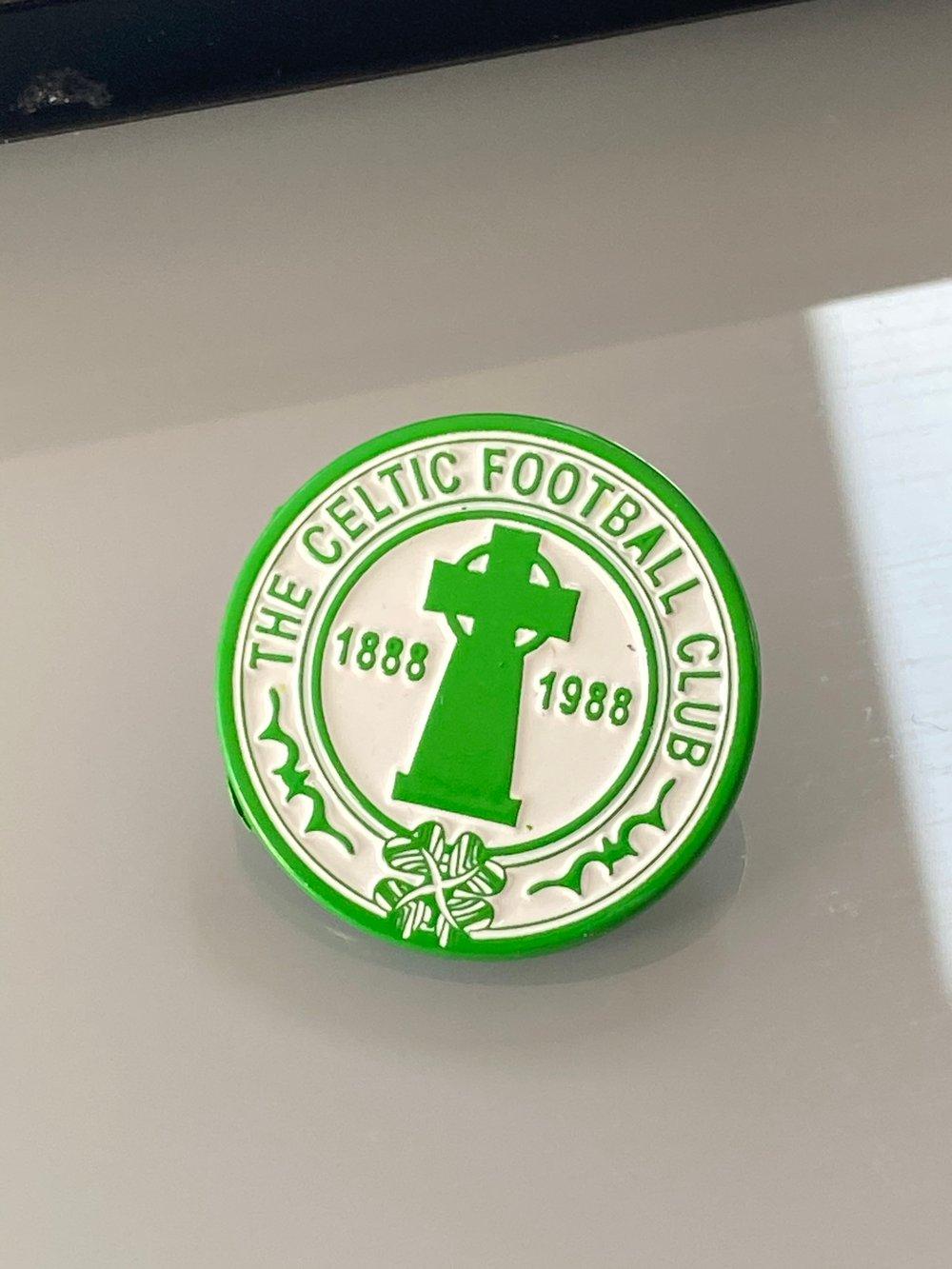 Centenary Pin Badge