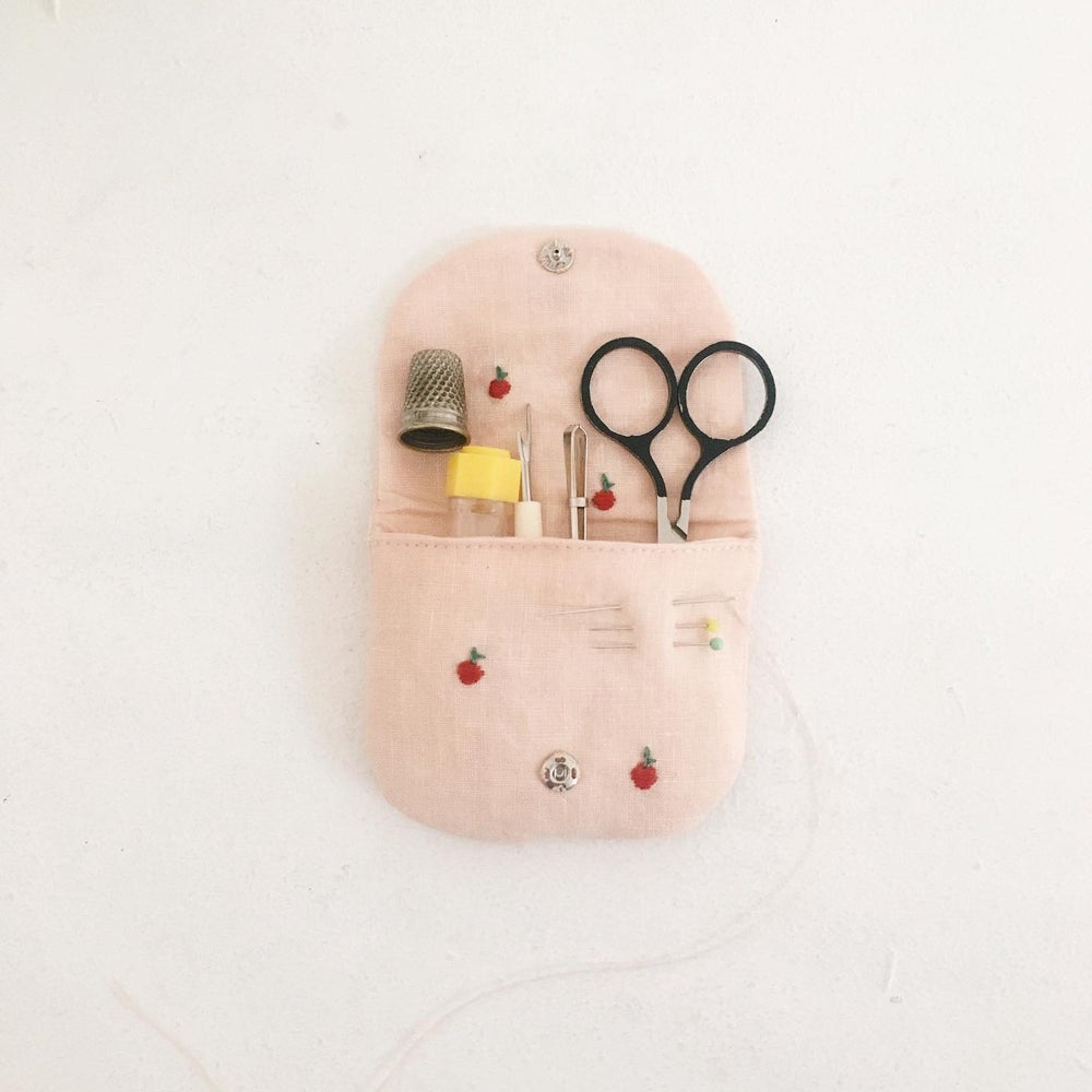 Image of apple mini pouch