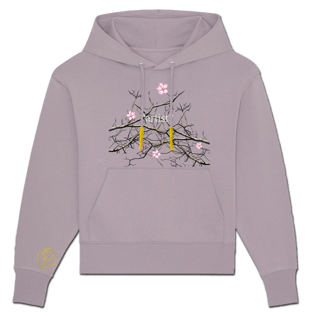 """Image of CHERRY BLOSSOMS """"artist"""" HOODIE - NEW FIT!"""