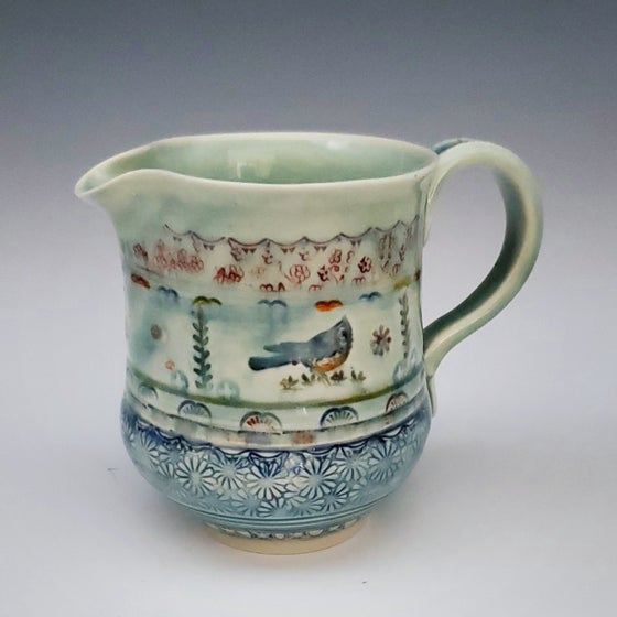 Image of Titmouse Porcelain Pitcher