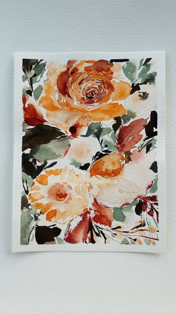 Image of 1/100  Day Painting Challenge - Original Watercolor Painting