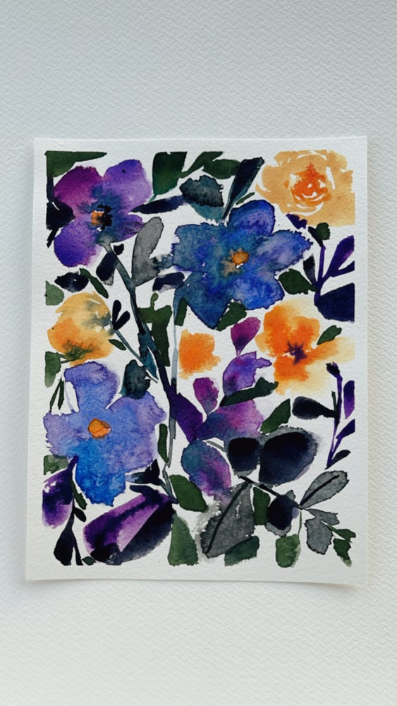 Image of 3/100 Day Painting Challenge - Original Watercolor Painting