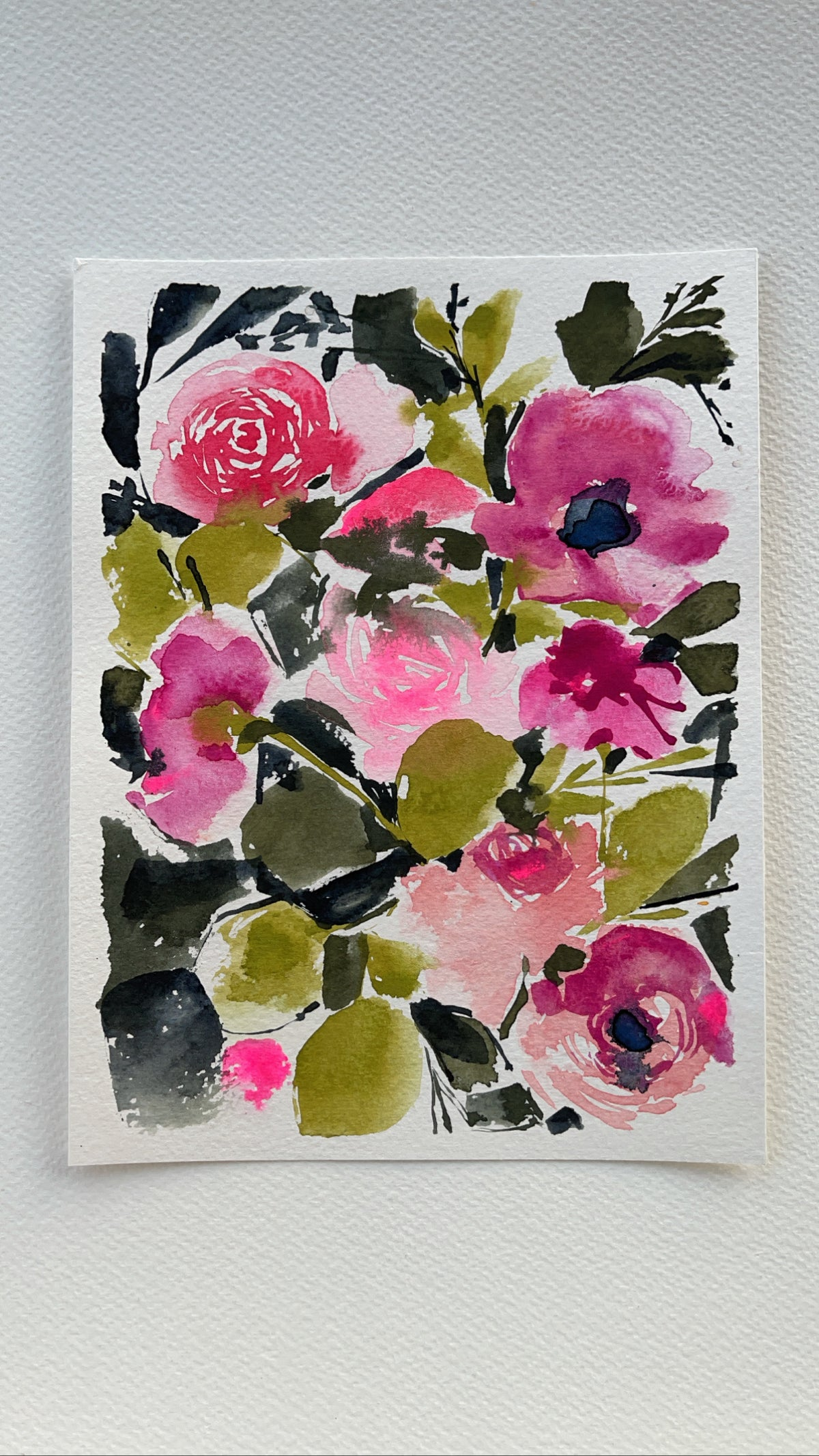 Image of 4/100 Day Painting Challenge - Original Watercolor Painting