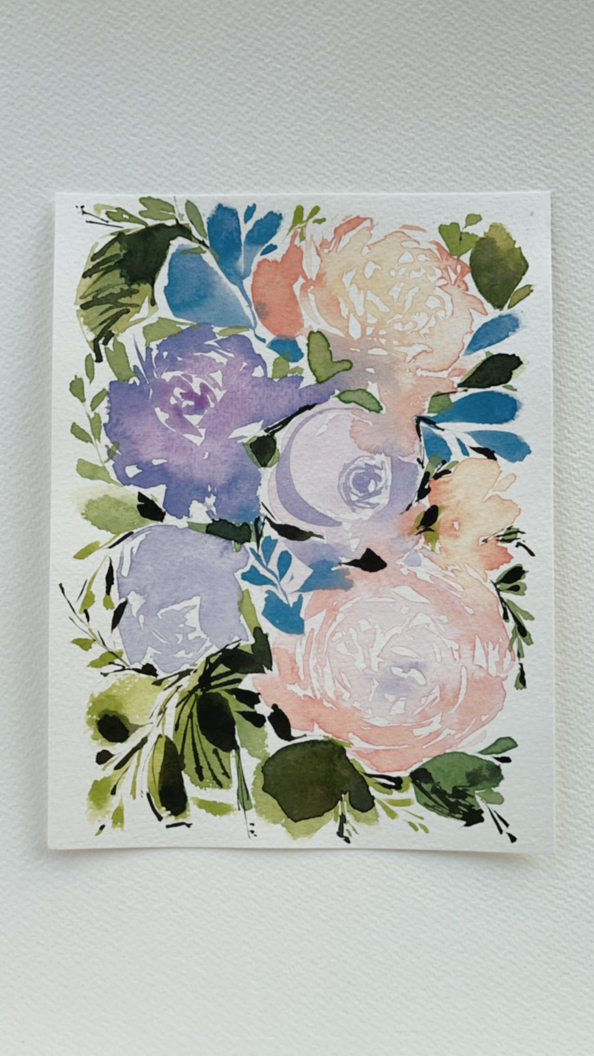 Image of 5/100 Day Painting Challenge - Original Watercolor Painting