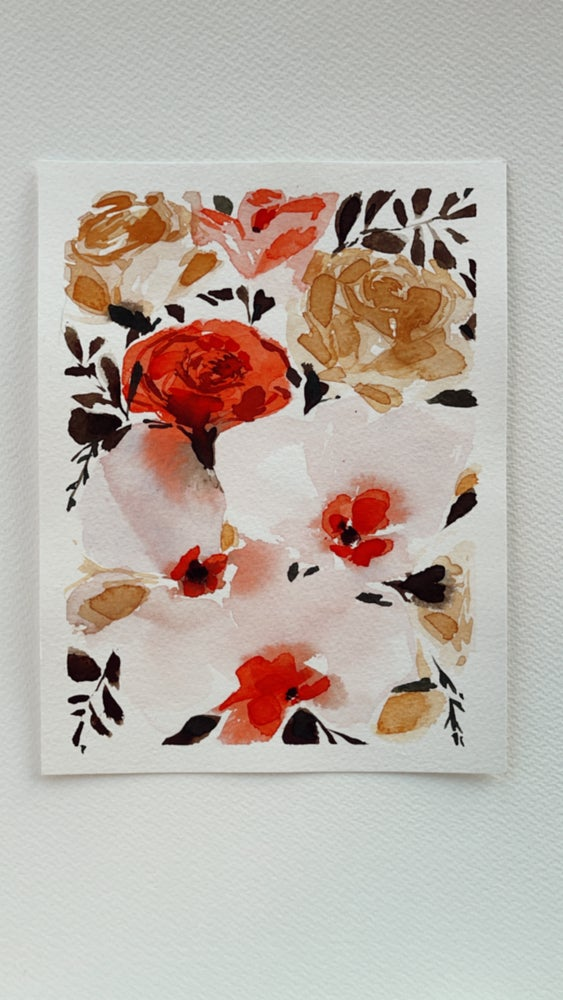 Image of 7/100 Day Painting Challenge - Original Watercolor Painting