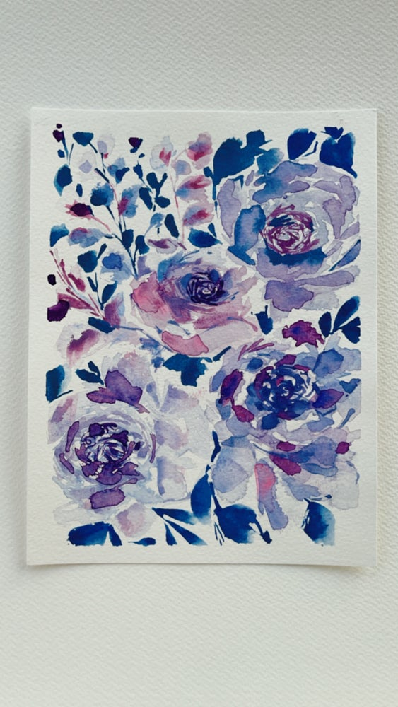 Image of 9/100 Day Painting Challenge - Original Watercolor Painting
