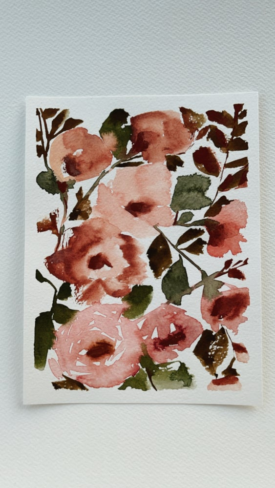 Image of 11/100 Day Painting Challenge - Original Watercolor Painting