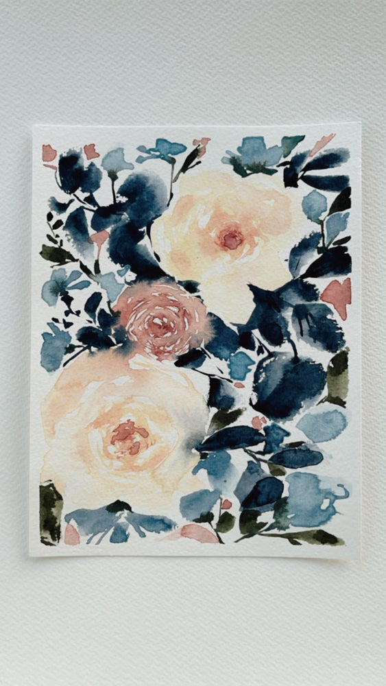 Image of 12/100 Day Painting Challenge - Original Watercolor Painting