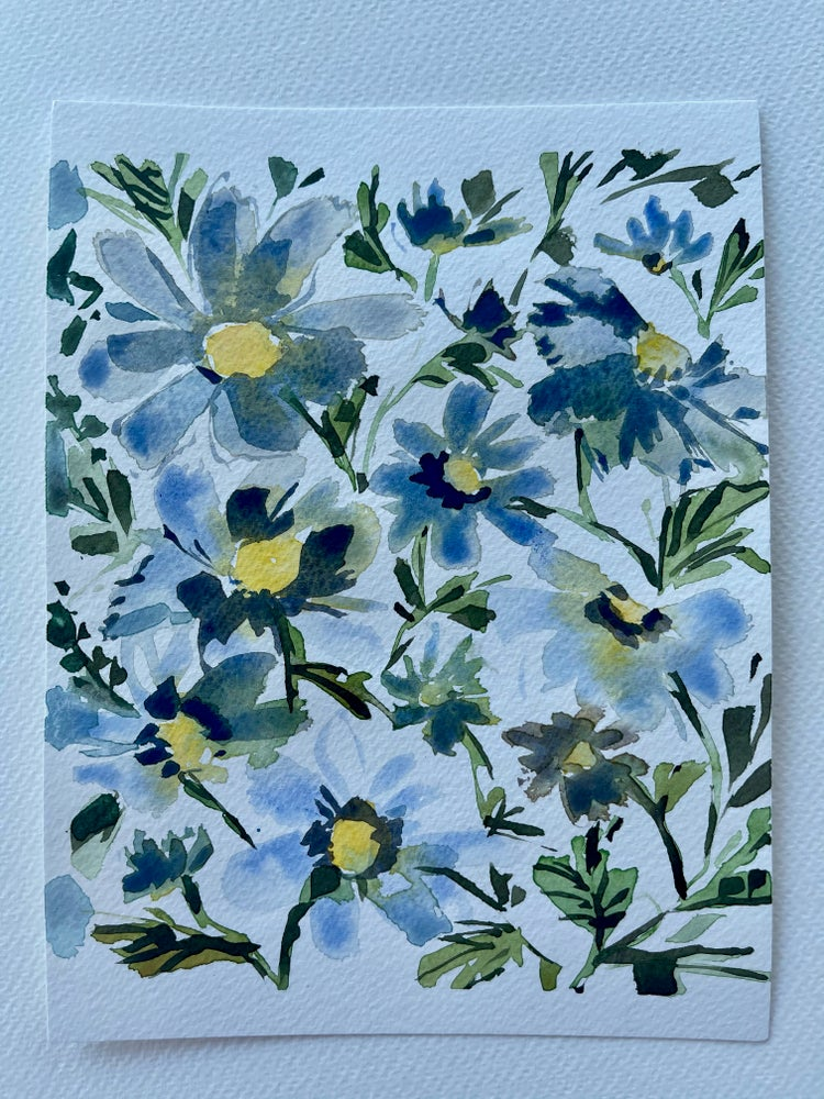 Image of 15/100 Day Painting Challenge - Original Watercolor Painting