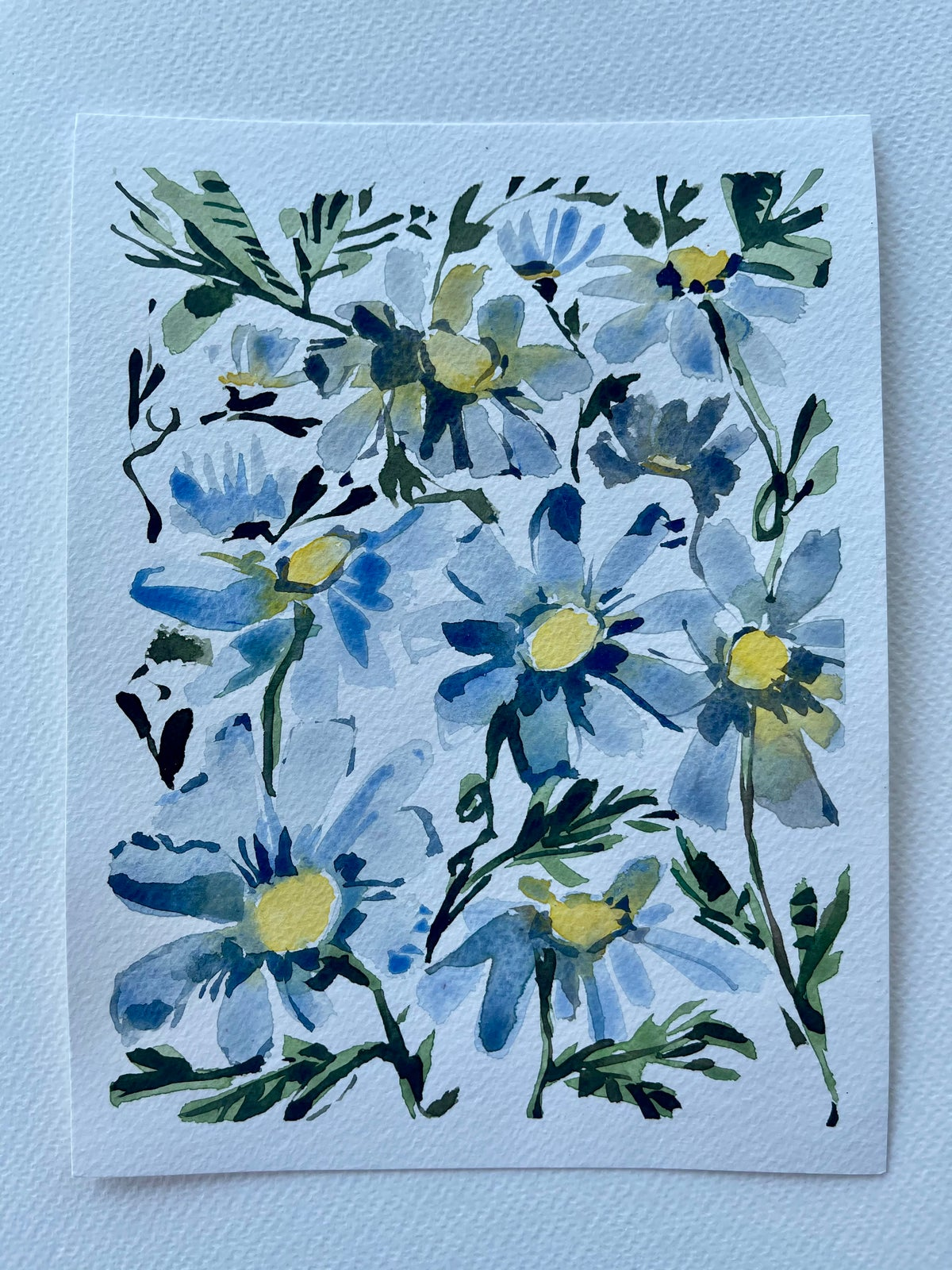 Image of 14/100 Day Painting Challenge - Original Watercolor Painting