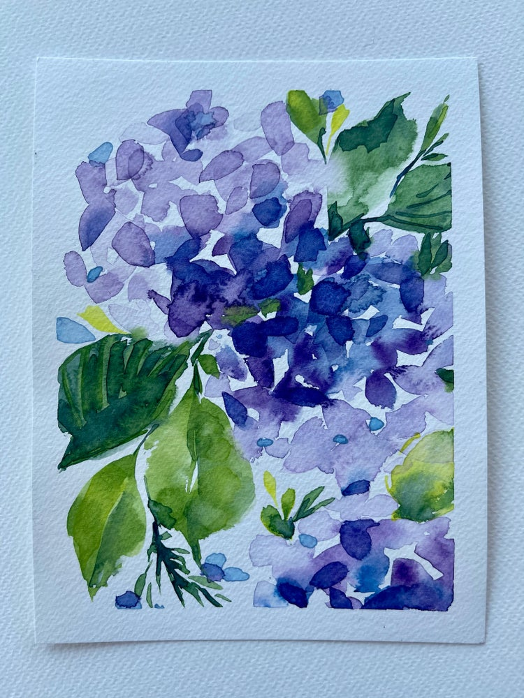 Image of 17/100 Day Painting Challenge - Original Watercolor Painting