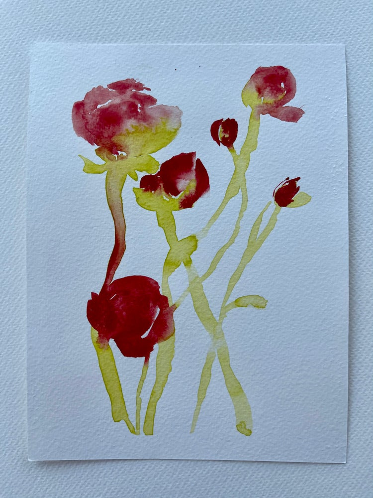 Image of 18/100 Day Painting Challenge - Original Watercolor Painting