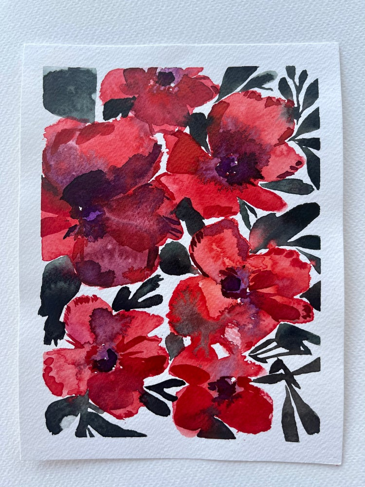 Image of 20/100 Day Painting Challenge - Original Watercolor Painting