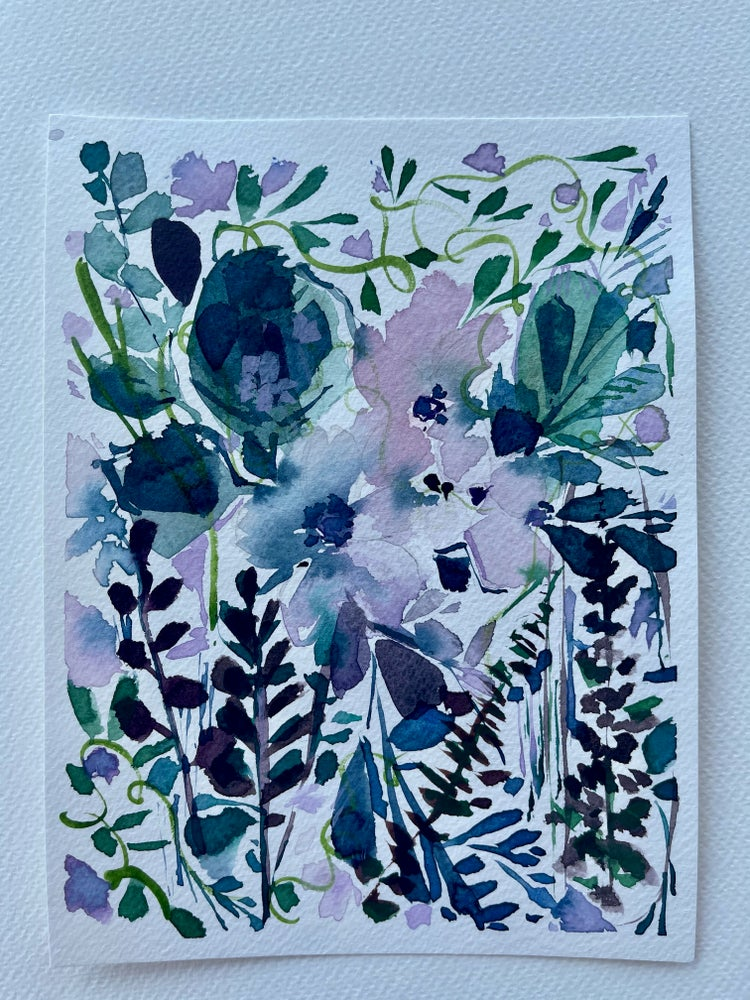 Image of 22/100 Day Painting Challenge - Original Watercolor Painting